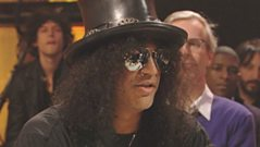 Slash chats to Jools Holland