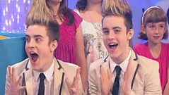Jedward Grilled by the Swap Shop Audience