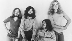 Led Zeppelin and manager Peter Grant talk about their notorious touring antics