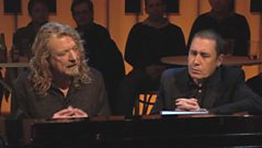 Robert Plant chats to Jools Holland