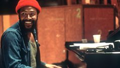 Marvin Gaye talks music and sports