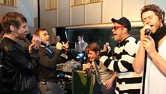 Take That in the Live Lounge