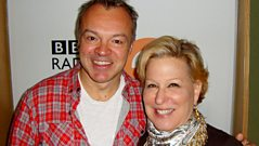 Bette Midler joins Graham Norton