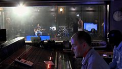 Behind the scenes at Maida Vale with Daley