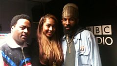 Dancehall with Robbo Ranx - Spragga Benz Live In The Studio!