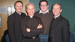 The Priests chat to John Toal