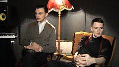 Sound of 2010 - Hurts show us their underground studio