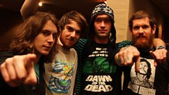 Pulled Apart By Horses Live Lounge Interview