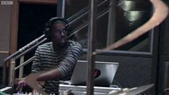Flying Lotus in session