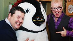 Peter Kay and Rick Astley co-host the Chris Evans Breakfast Show