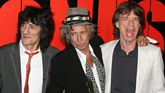 Mick Jagger, Keith Richards and Ron Wood