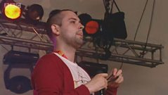 The Twilight Sad performing live at T in the Park