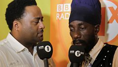 Sizzla catches up with Robbo Ranx