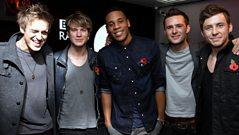 McFly do Jedward impressions