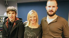 White Lies take Jo Whiley on a Road Trip