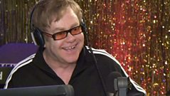 WATCH: Elton John speaks to Chris Evans about his new baby