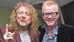 Robert Plant joins Chris Evans on the Breakfast Show!