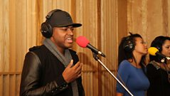 Interview: Taio Cruz in the 1Xtra Live Lounge