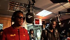 Lupe Fiasco & Sway Freestyle!