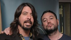 Dave Grohl's surprise visit to Huey Morgan