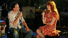 Steve Lamacq Interviews Florence Welch at Maida Vale