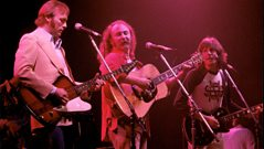 Crosby, Stills & Nash chat about writing the songs on their self titled album