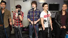 Interview: The Wanted in the Live Lounge