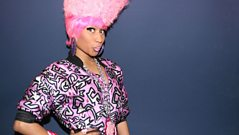 Nicki Minaj loves the UK!