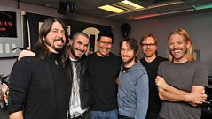 Foo Fighters with Zane Lowe