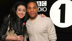 Clare Maguire's lunchtime liaison with Reggie Yates