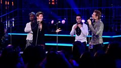 Blue perform on Top of the Pops in Italy