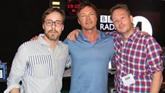 Basement Jaxx drop in on Pete