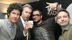 Mike D from the Beastie Boys with Zane Lowe
