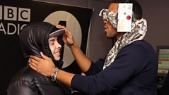 N-Dubz's Dappy gets man-handled!