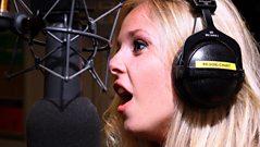 Diana Vickers screams!