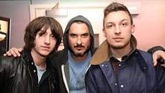 Arctic Monkeys live in the studio with Zane Lowe Pt 2
