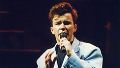 Rick Astley on Never Gonna Give You Up