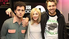 The Vaccines chat to Fearne Cotton