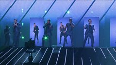 Eurovision 2011: Blue in Rehearsal