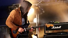 Masters in France perform Greyhounds at BBC Radio 1's Big Weekend 2011