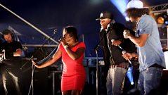 DJ VImto and Jah Digga perform Everything at Radio 1's Big Weekend.