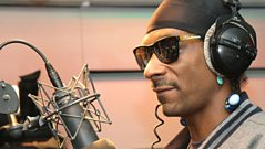 Snoop Dogg reads the news