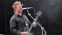 Josh Homme from QOTSA launches Glasto vote