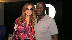 Jennifer Lopez chats to Trevor Nelson