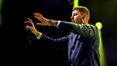 Professor Green highlights from Radio 1's Big Weekend