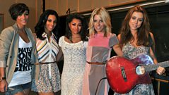 Interview: The Saturdays in the Live Lounge