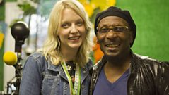 Jimmy Cliff talks to Lauren Laverne at Glastonbury 2011