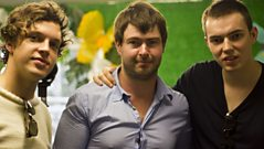 Friendly Fires talk to Steve Lamacq about their Glastonbury activities