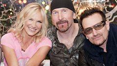 U2 talk to Jo Whiley at Glastonbury 2011