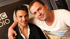 Scott Mills - Peter Andre passes by